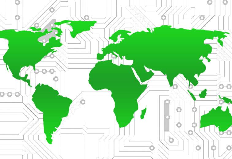 Met groene hosting draag je bij aan een beter milieu